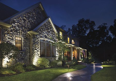 Outdoor lighting landscape lighting earthly possibilities landscape lighting company in des moine iowa aloadofball Image collections
