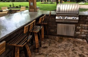outdoor kitchens des moines