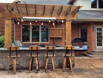 The Whiskey Barrel Patio in Norwalk, IA