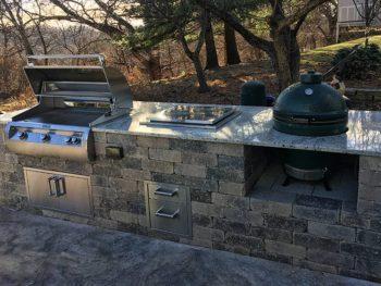 Outdoor Kitchen in West Des Moines