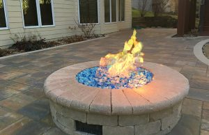 fire pit builder urbandale ia