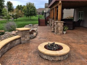unilock paver patio contractor