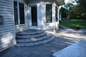 des moines fire pit patio project